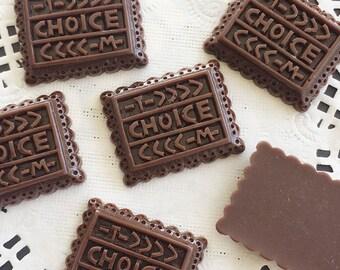 21x27mm.Miniature Cabochon Cookie,Miniature Chocolate ,Cabochons,Miniature Sweet,Miniature Cabochon,DIY,Mobile case