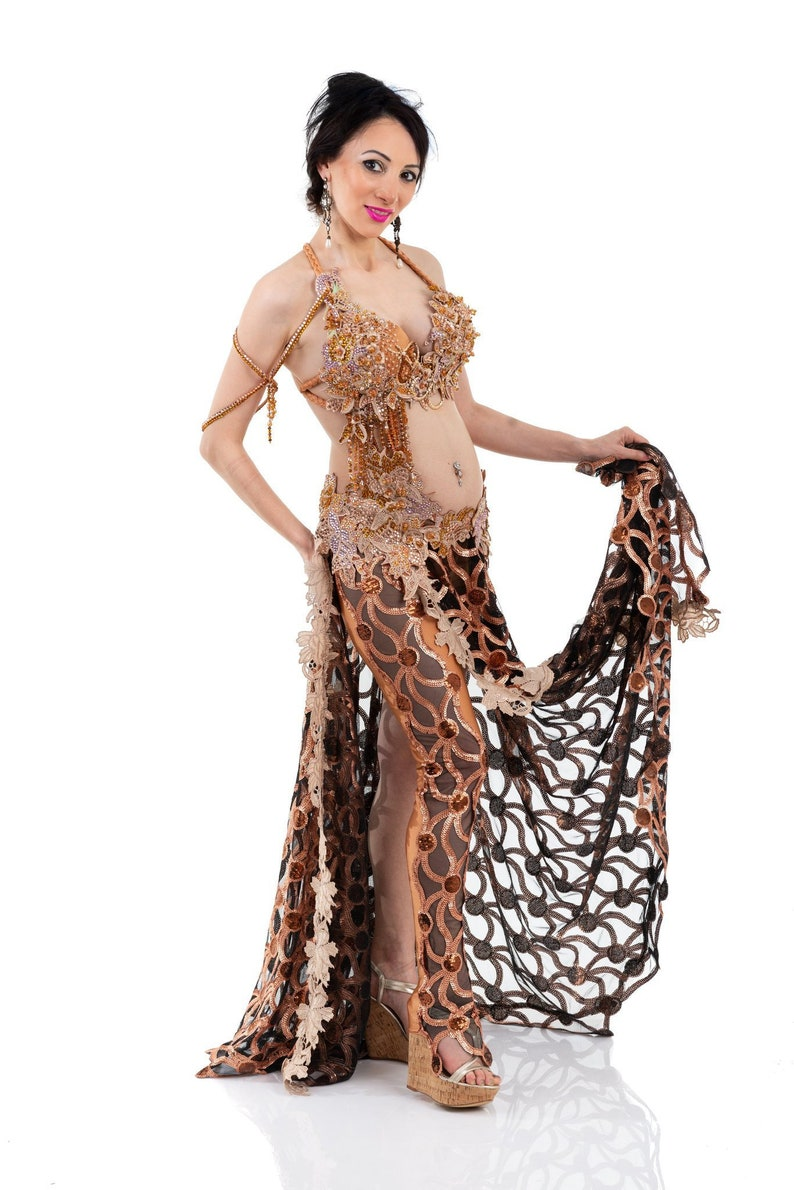 Bronzed Beauty. Exclusive Bellydance Costume image 0