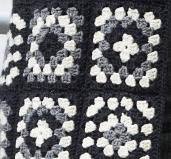 Schwarzweiß PulloverStrickjacken Damenjacke Karierter Jacke elegante stilvolle MantelhäkelnPatchwork Y7yvmfgb6I