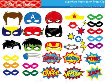 picture about Free Printable Superhero Photo Booth Props referred to as Photobooth Etsy