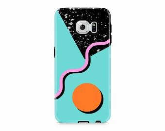 80s Galaxy S9 case, Pastel Samsung Galaxy S8 case, Memphis Samsung S7 phone case Samsung S6 edge Case Galaxy S5, S8 phone case