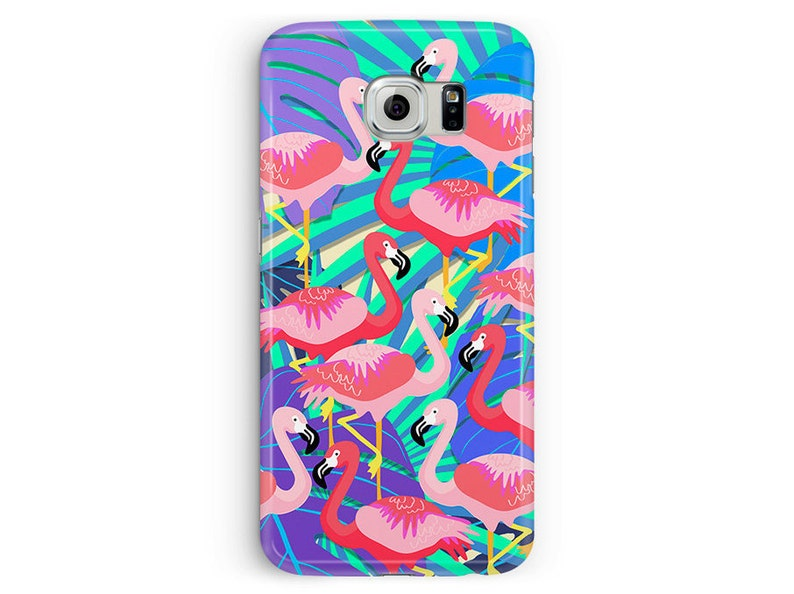 coque flamant rose samsung galaxy s6