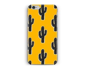 iPhone 6s case, iPhone 6 case, cactus iPhone 6 case, pot plant case, cacti Phone case, 6 plus case, yellow phone Case, mexican iPhone 6 case
