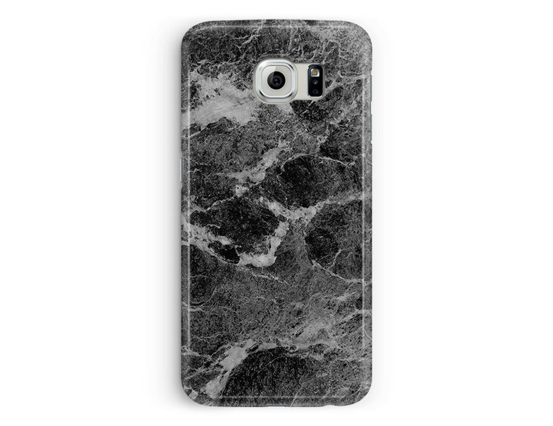 sports shoes 421a7 dda12 Marble Phone Case Samsung S7, Marble Samsung, Galaxy S6 Case, Samsung S8  Case, S8, S9, S5, S6, S7 Edge, S6 Edge, Black Marble Cases, Girly