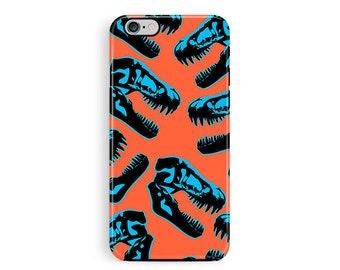 iPhone 6 Protective Case, Protective Phone Case, Dinosaur iPhone 6 protective case, bumper case, dinosaur phone case, iphone 6 covers t rex