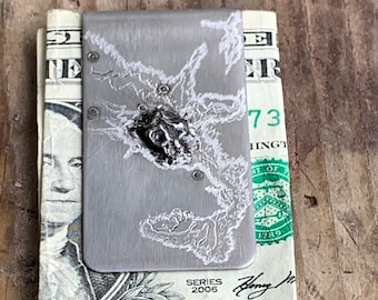 Money Clip- Special Gift for Him - Meteorite Money Clip - Last Minute  Gift for Men - Fathers Day Gifts - FREE SHIPPING