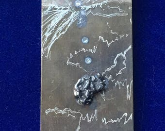 Geek gifts for him - Meteorite Money Clip