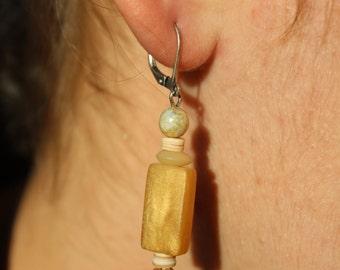Gold colored Earrings, boho jewelry, cheap boho jewelry, boho jewelry cheap, bohemian earrings, bohemian chic jewelry FREE SHIPPING!