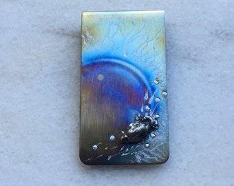 Money Clip - Meteorite Gift for Men - Meteorite Money Clip - Money Clips