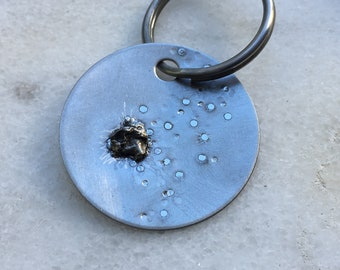 Mens KEYCHAIN | stepdad keychain | gift for dad ideas | gifts for dad 2018 | boss gift | Meteorite Gifts
