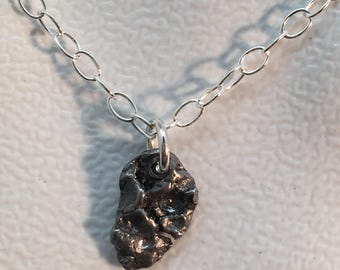 Science lover gift - Meteorite necklace