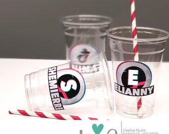 7e03b54e TikTok Party Cups (Clear)