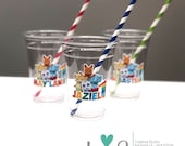 Word Party Cups (Clear)
