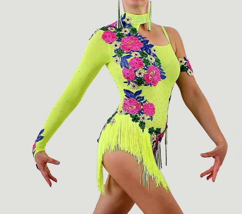 Caraibico Gare Bachata Salsa Ballo SpettacoliEtsy Show Abito Per DH9bWeEY2I