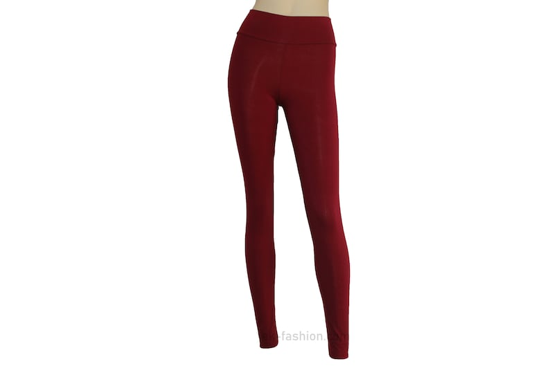130f25c9ee65 Yoga leggings Wine ballet tights High waist burgundy pants