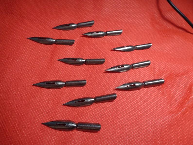 10 Turner & Harrison Steel Pen Nibs, #506  Firm Medium Never Used  Nice!