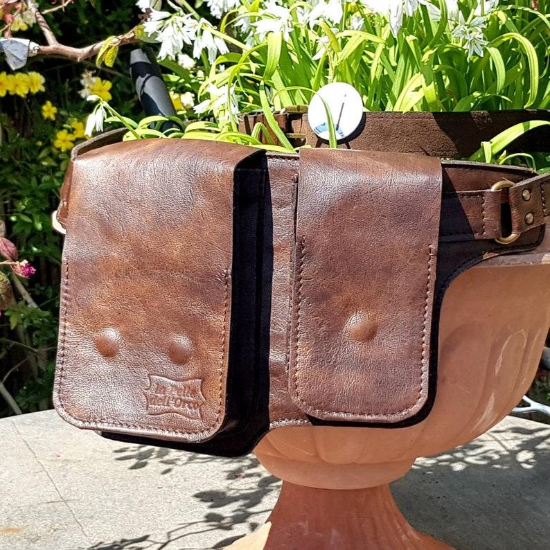 women/'s bag Italian leather Leather Marsupio men/'s bag Belt leather bag handmade.