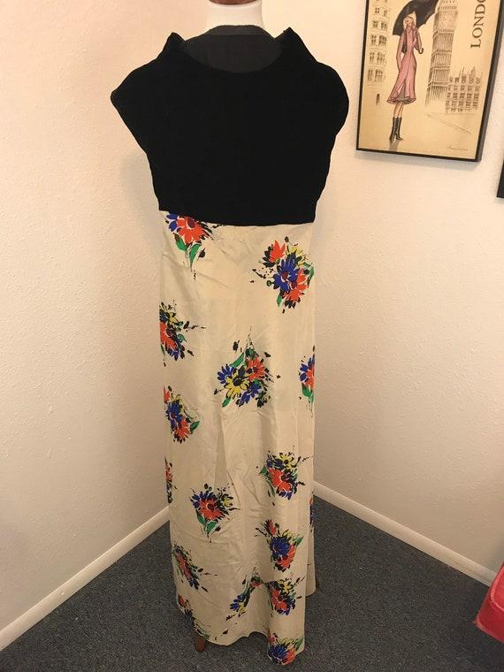 30s Vintage floral dress
