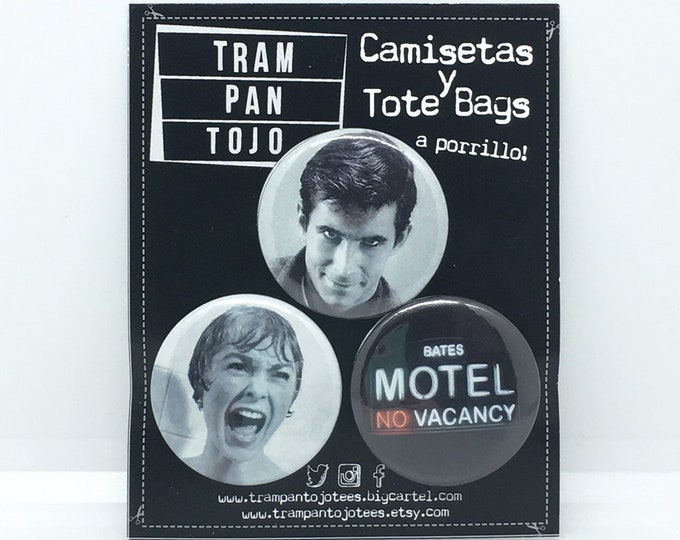 Terror Film Badge - Classic Cult Film Badge - PSYCHO