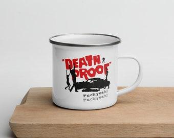Enamel Mug Death Proof Tarantino Film