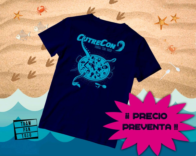 T-Shirt CUTRECON9 From the deep  Festival Cine Cutre Madrid. image 0