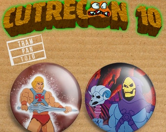 CUTRECON 10 Pack Masters del Universo/Skeletor/He man