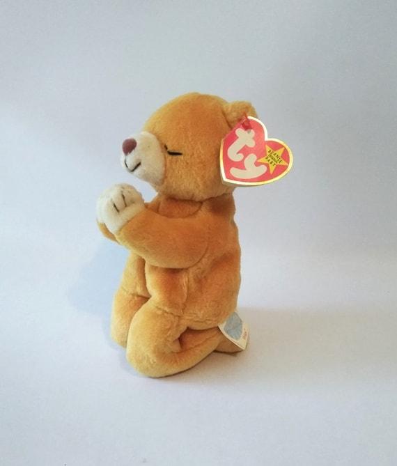 f29c46cebdb Error Hope ty beanie baby Praying Bear March 23 1998. The