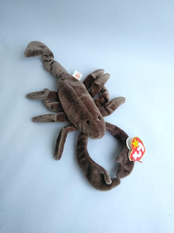 75b3104151c ERROR Ty Beanie Baby Stinger The Scorpion 1 Rare Error