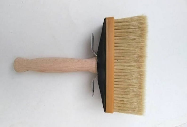 a052e6707c0a 6 x 2Italian Pure Bristle Large Block Brush 60 x