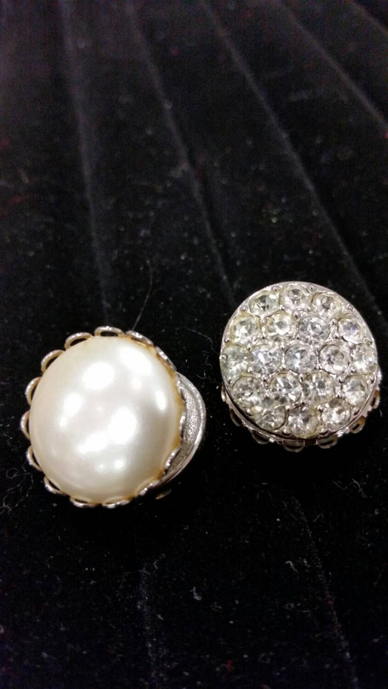 Office to after Sarah Coventry clip earrings