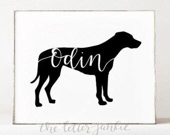 Custom Pet Art Print