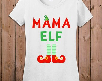 elf t shirt christmas shirt mama elf movie tshirt santa claus holiday season tee great stocking stuffer ideas t shirt tee shirt tm 19