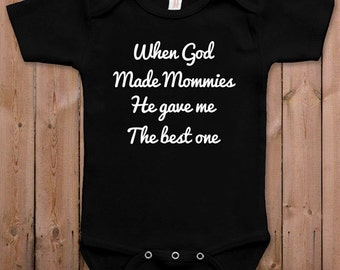 e98e3fbc93dd Funny baby clothes newborn baby clothes mommy thinks she s