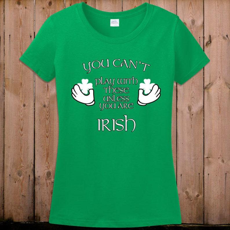 dc0148404 St Patricks day t shirt beer shirt funny Irish shamrocks shirt | Etsy
