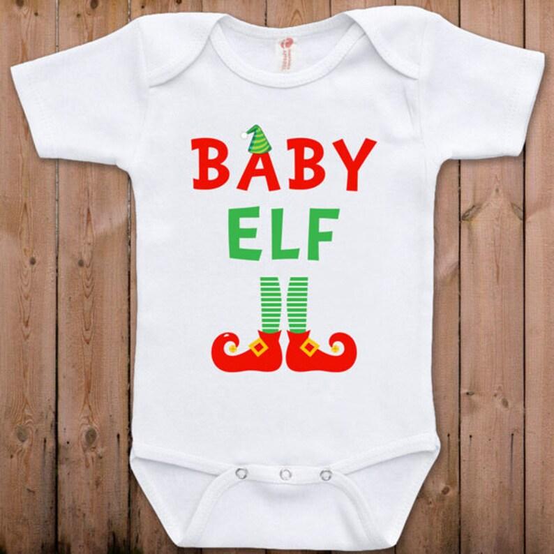 ElfEtsy Kerst Kleding Baby Grappige Pasgeboren hrCQdst