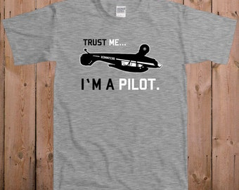 Pilot shirt funny t shirts for men Don't worry I'm a pilot custom name on airplane altitude women ladies men youth tshirt T-Shirt Tee shirt