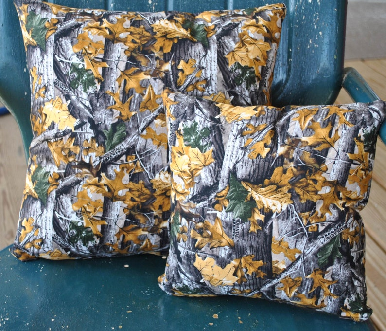 A tribute to Duck Dynasty  This camo fabric is 100% cotton in image 0
