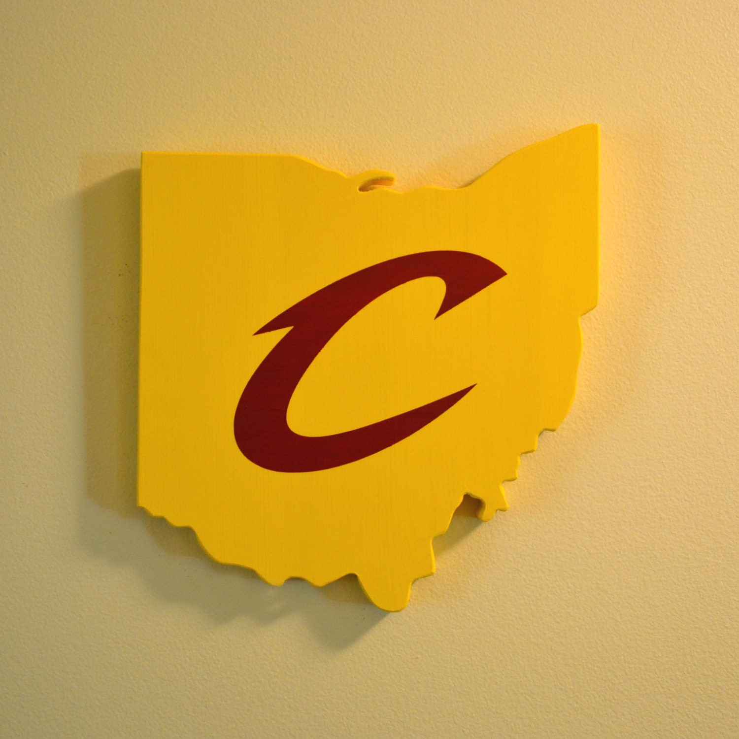 Cleveland Cavaliers Wall Art Handmade Wooden Cavs Sign | Etsy