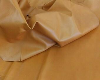 "Sheepskin Italian Top quality Sheep /""Hot Pink/"" skin hide leather 0.6 mm 1.5 oz."