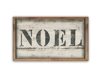 Noel wooden sign Handmade wood signs Christmas signs Noel signs Christmas decor Modern Country Christmas Farmhouse Christmas signs holiday
