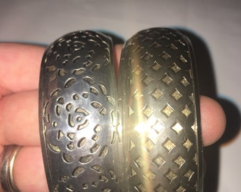 Sterling Silver bangles set of 2.