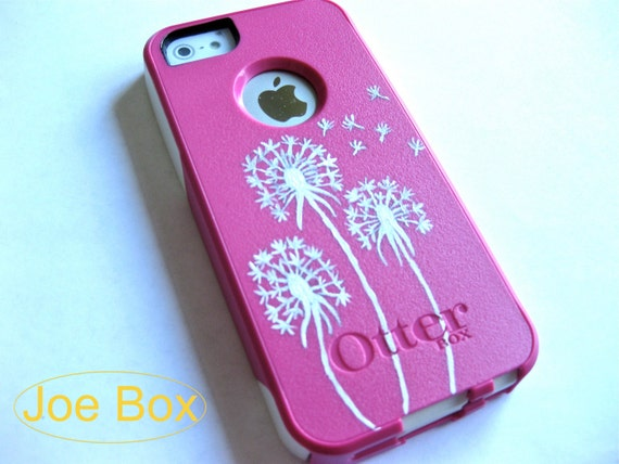 best loved 59ea5 6ff21 OTTERBOX iphone 5/5s case, case cover iphone 5s otterbox ,iphone 5 otterbox  case,otterbox iPhone 5,gift,dandelion otterbox case