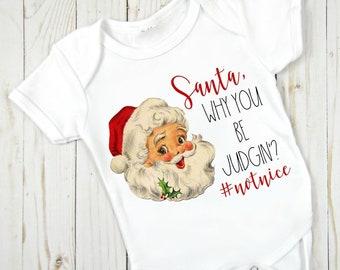 0a06b0878017 Santa baby onesie