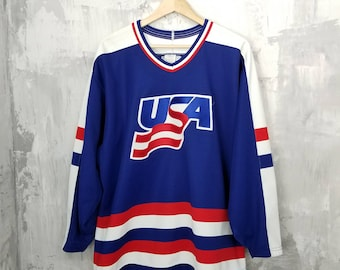 10caaa5be Vintage Team USA Olympic hockey jersey