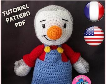 You Charlie - pattern-CROCHET PATTERN
