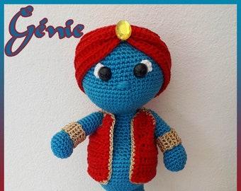 Genius, handmade crochet