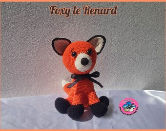 Foxy Fox-handmade crochet