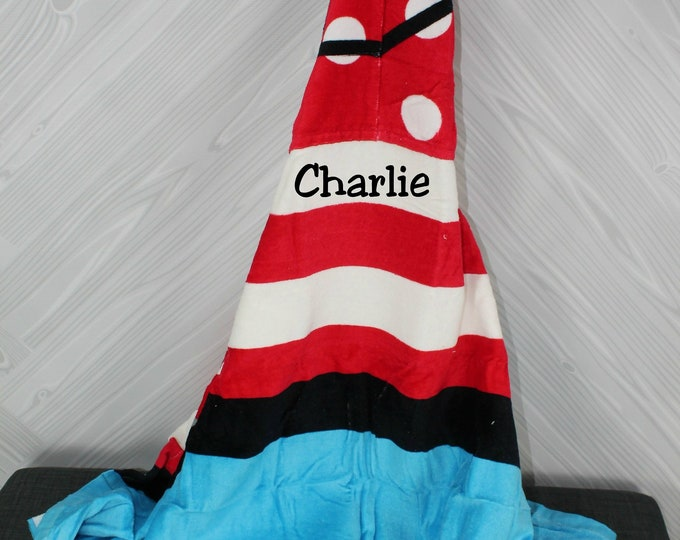 Pirate Hooded Beach Towel toddler kids FREE personalization
