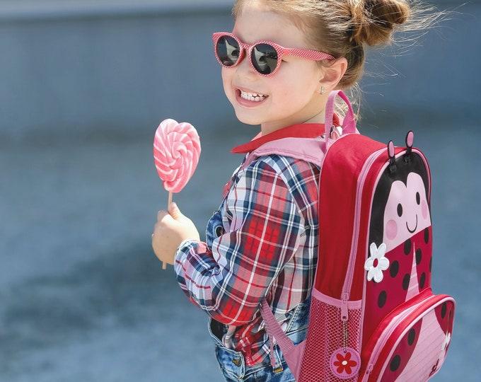 Ladybug NEW Style Sidekick Backpack toddler preschool kids FREE Embroidery Personalization NEW design