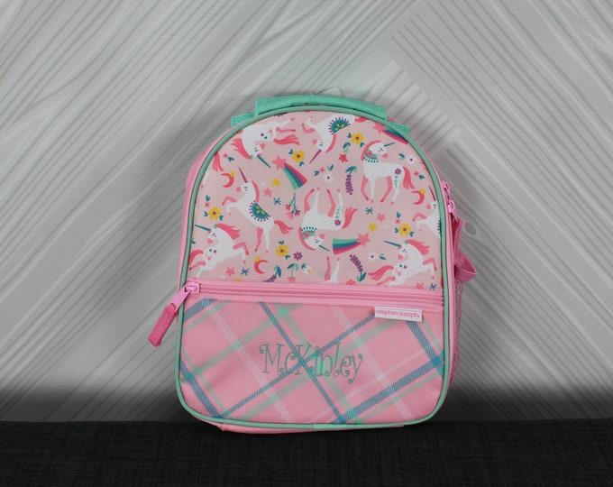 Unicorn Lunchbox toddler preschool kids FREE personalization